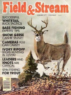 Vintage Field and Stream Magazine   December, 1977 Sports & Outdoors