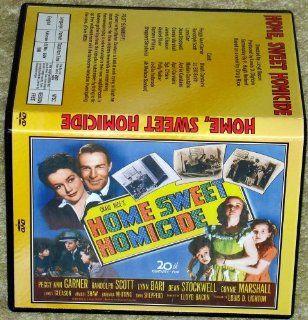 HOME SWEET HOMICIDE   DVD   Peggy Ann Garner, Randolph Scott: Lynn Bari: Movies & TV