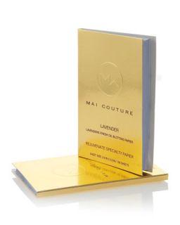 Mai Couture Lavender Rejuvenate Oil Blotting Papier   Lavender
