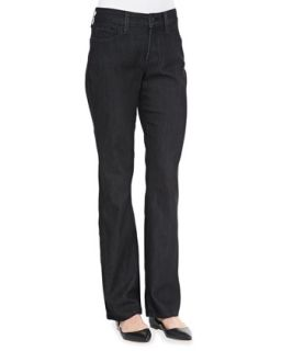 Womens Marilyn Straight Leg Jeans, Petite   NYDJ   Dark enzyme (10P)