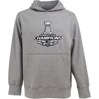 Antigua LA Kings 2014 Stanley Cup Champions Mens Signature Hooded Sweatshirt