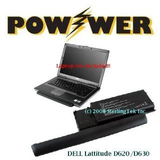 PortaCell USA (9 cells, Super Capacity 7800mAh/87Wh, 11.1V) replacement Dell 310 9080 laptop battery for the Latitude D620: Computers & Accessories