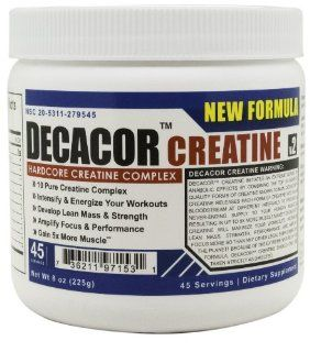 Decacor Creatine   Best Creatine Supplements   Best Creatine Powder that will Enhance Your Muscle Growth, Power and Recovery: Health & Personal Care