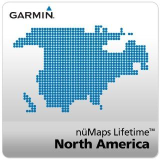 Garmin n�Maps Lifetime Map Update for North America [Online Map Code]: Software