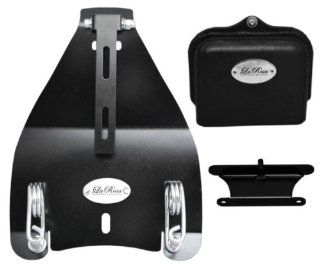 "La Rosa Harley Davidson Softail Deluxe Heritage Bobber Style Solo Seat Conversion Mount Kit with 3"" Barrel Springs (Fits All 2000 & UP Softail Models): Everything Else"