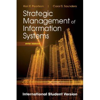 Strategic Management of Information Sys 9781118322543 Books