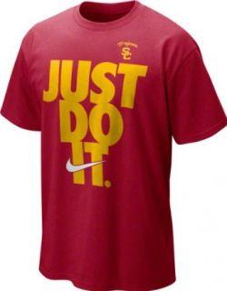 USC Trojans Nike Crimson Just Do It T Shirt: Clothing