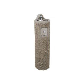 Haws 3060, Vibra Cast Reinforced Round Concrete Pedestal Drinking Fountain: Industrial & Scientific