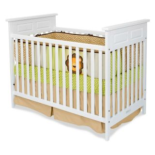 Child Craft Logan 2 in 1 Convertible Crib   White   Cribs