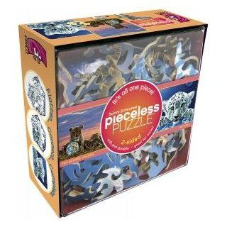 """Schim Schimmel Pieceless Puzzle (2 sided. 14"""" x 12"""", Level 3, Ages 8 & Up) Two Mothers' Children & My World Toys & Games"""