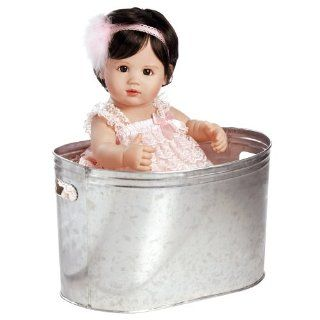 Collectible Doll, Real Looking Baby Doll, Ke'Alohi, 19 inch Doll in Full Vinyl: Toys & Games