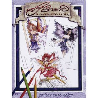 Amy Brown Fairies Coloring Book Amy Brown Books