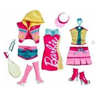 Barbie Fashionistas Day Looks Clothes   Sporty Tennis Fashion Outfit: Toys & Games