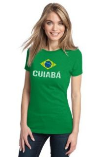 CUIABA, BRAZIL Ladies' Vintage Look T shirt / Brazilian City in Mato Grosso Clothing