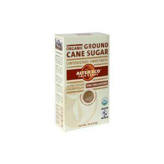 Alter Eco Fair Trade Organic Ground Cane Sugar,16 oz, (pack of 3)