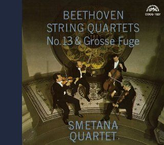 Smetana Quartet   Beethoven, Ludwig Van  String Quartet No.13, Great Fugue [Japan LTD SHM SACD] COGQ 1027 Music