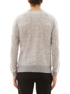 Python intarsia sweater  Richard Nicoll