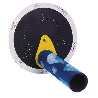 S&S Worldwide Stellar Constellation Viewer Craft Kit (Makes 12): Toys & Games