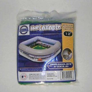 "Chicago Cubs Wrigley Field 12"" Inflatable Stadium   Makes a Great Serving Bowl for Drinks or Chips At Your Next Party or Picnic.: Toys & Games"