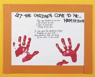 Handprint Poem with Scripture Craft Kit (Makes 30): Health & Personal Care