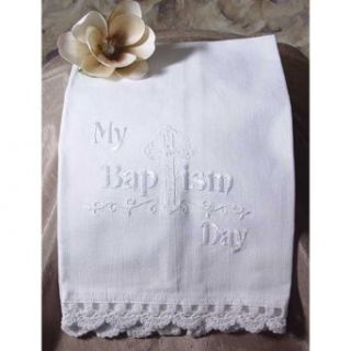 My Baptism Day Towel   Baby Keepsake Products
