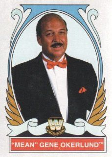 2008 Topps Heritage IV WWE Wrestling #86 Mean Gene Okerlund Trading Card at 's Sports Collectibles Store