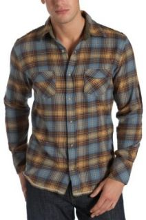 Vintage Red Men's Frayed Flannel Plaid Long Sleeve Shirt, Chino, Medium at  Men�s Clothing store: