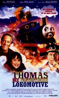 Thomas and the Magic Railroad [VHS]: Alec Baldwin, Cody McMains, Russell Means, Peter Fonda, Jared Wall, Laura Bower, Didi Conn, Mara Wilson, Lori Hallier, Michael E. Rodgers, Edward Glen, Neil Crone, Britt Allcroft, Barry London, Brent Baum, Charles Falzo