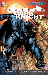 Batman: The Dark Knight, Vol. 1   Knight Terrors (9781401235437): David Finch, Paul Jenkins, Joe Harris, Ed Benes, Richard Friend: Books