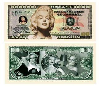 MARILYN MONROE MILLION DOLLAR BILL (5 bills): Everything Else