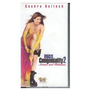 Miss Congeniality 2   Armed and Fabulous [VHS] Sandra Bullock, Regina King, William Shatner, Enrique Murciano, Ernie Hudson, Heather Burns, Diedrich Bader, Treat Williams, Abraham Benrubi, Nick Offerman, Eileen Brennan, Elisabeth R�hm, John Pasquin, Bruce