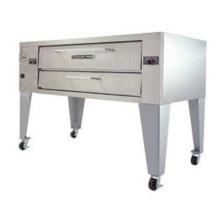 Bakers Pride SuperDeck Y Series Double Deck Gas Oven, 78 x 43 x 66 inch    1 each. Kitchen & Dining