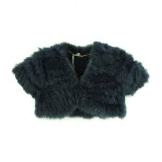 Miss Grant Mini Girl Rabbit Fur Bolero 4A Clothing