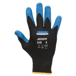 Jackson Safety G40 Nitrile Coated Glove, Medium, Blue (Case of 60 Pairs): Work Gloves: Industrial & Scientific