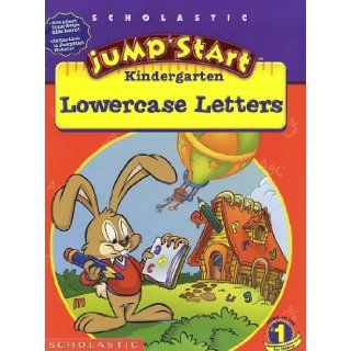 JumpStart Kindergarten Lowercase Letters Workbook: Liane Onish, Duendes Del Sur: 0011179184859: Books