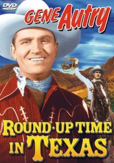 Round Up Time in Texas: Gene Autry, Smiley Burnette, Maxine Doyle, The Cabin Kids, Champion, LeRoy Mason, Earle Hodgins, Dick Wessel, Buddy Williams, Elmer Fain, Corny Anderson, Frankie Marvin, William Nobles, Joseph Kane, Lester Orlebeck, Armand Schaefer,