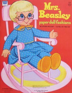 Whitman MRS. BEASLEY PAPER DOLL FASHIONS Book UNCUT (1972 FAMILY AFFAIR Co) Toys & Games