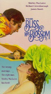 Bliss of Mrs Blossom [VHS]: Shirley MacLaine, Richard Attenborough, James Booth, Freddie Jones, William Rushton, Bob Monkhouse, Patricia Routledge, John Bluthal, Harry Towb, Sandra Caron, Sheila Steafel, Frank Thornton, Geoffrey Unsworth, Joseph McGrath, R
