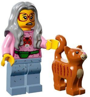 The Lego Movie Mrs. Scratchen Post Cat Lady Minifigure Series 71004 Toys & Games
