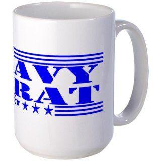 United States Navy Large Mug Large Mug   Standard Kitchen & Dining