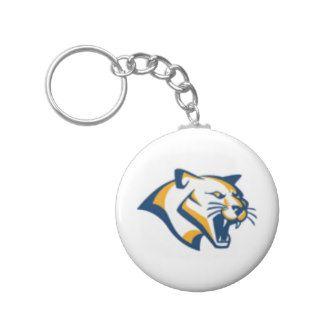 Cougar Logo Key Chain