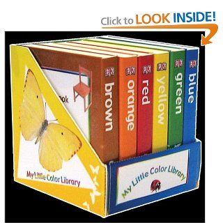 My Little Colors Library (Dk My First Books) DK Publishing 9780756627294  Kids' Books