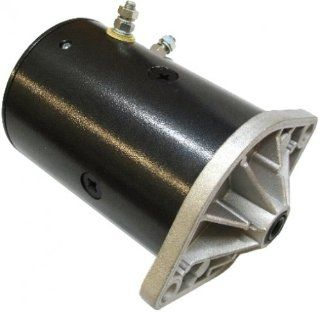 New Western Snow Plow Motor Lift Pump w/Ground Post: Automotive