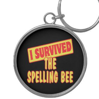 I SURVIVED THE SPELLING BEE KEY CHAIN