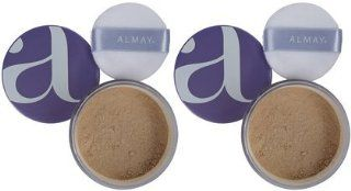 Almay Nearly Naked Loose Powder, Light, 2 ct (Quantity of 2): Health & Personal Care