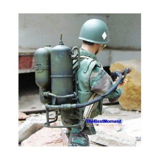 """Gun_M2FT Dragon 16 Scale WW2 US Army Marine USMC Infantry Flamethrower M1 M2A1 Gun Model For 16 Scale 12"""" Action Figure Accessories (Original from TheBestMoment @ ) Toys & Games"""