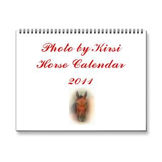 Photo by Kirsi Horse Calendar 2011