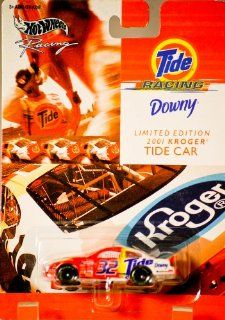 2001   Mattel   Hot Wheels Racing   NASCAR   Tide Racing   2001 Kroger Tide Car   #32   Ricky Craven   Ford Taurus   Very Rare   Card is Near Perfect   164 Scale Die Cast Metal   New   Out of Production   Collectible Toys & Games