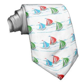 Yacht Racing Trio Neck Tie