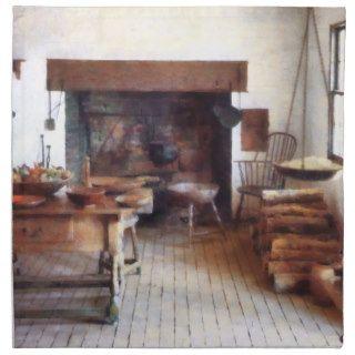 Cocina colonial servilletas de papel de